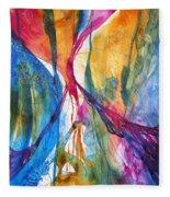 Canyon Sunrise Fleece Blanket