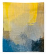 Canyon Sunrise Fleece Blanket
