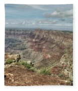 Canyon View From Navajo Point Fleece Blanket