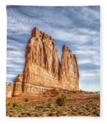 Arches National Park 2 Fleece Blanket