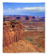 Canyonlands 4 Fleece Blanket