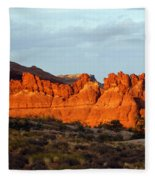 Canyonlands At Sunset Fleece Blanket
