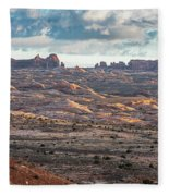 Arches National Park - Morning Fleece Blanket