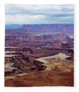 Canyonlands National Park, Utah Fleece Blanket