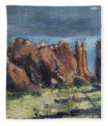 Canyonlands Utah Fleece Blanket