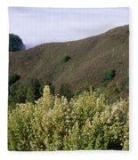 Canyons And Clouds Fleece Blanket