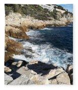 Cap De Nice Fleece Blanket