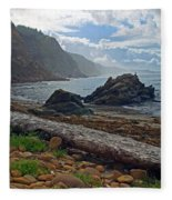 Cape Arago Oregon Fleece Blanket