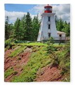 Cape Bear Lighthouse - 2 Fleece Blanket