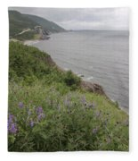 Cape Breton Coast Fleece Blanket