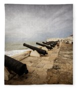 Cape Coast Castle Fleece Blanket