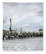 Cape Cod Winter Fleece Blanket