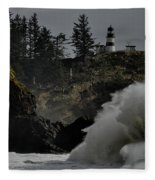 Cape Disappointment Finale Fleece Blanket
