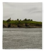 Cape Flattery Lighthouse Fleece Blanket