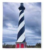 Cape Hatteras Lighthouse Fleece Blanket