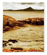 Esperance Bay P Fleece Blanket
