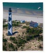 Cape Lookout 4 Fleece Blanket
