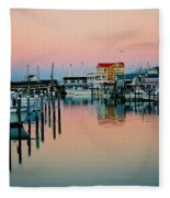 Cape May After Glow Fleece Blanket