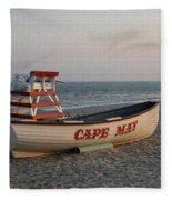 Cape May Calm Fleece Blanket