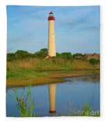 Cape May Morning Reflection Fleece Blanket