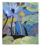 Capistrano Lillies Fleece Blanket
