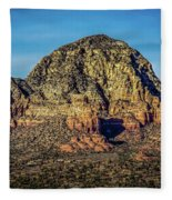 Capital Butte Evening Fleece Blanket