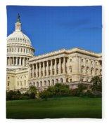 Capitol Building Fleece Blanket