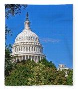 Capitol Gains Fleece Blanket