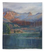 Capitol Peak Rocky Mountains Fleece Blanket