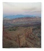 Capitol Reef 0716 Fleece Blanket
