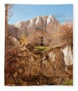 Cappadocia Dovecotes Fleece Blanket