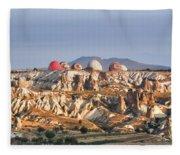 Cappadocia - Turkey Fleece Blanket
