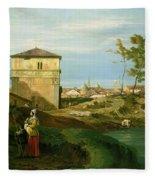 Capriccio With Motifs From Padua Fleece Blanket