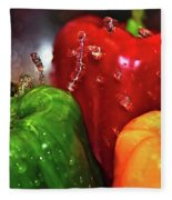 Capsicum In The Wash Fleece Blanket
