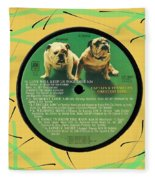 Captain And Tennille Greatest Hits Lp Label Fleece Blanket