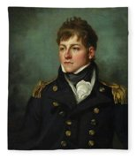 Captain George Miller Bligh Fleece Blanket