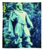 Captain John Smith - Jamestown Virginia Fleece Blanket