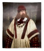 Captain Of The Guild Of St. Maurice Fleece Blanket