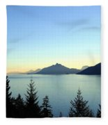 Captivating Howe Sound Fleece Blanket
