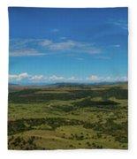 Capulin Panorama Fleece Blanket