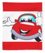 Car Fleece Blanket