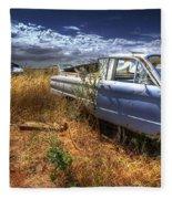 Car Graveyard Fleece Blanket