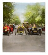 Car - Race - Hold On To Your Hats 1915 Fleece Blanket