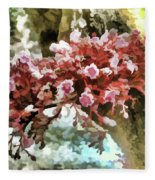 Carambola Flower Fleece Blanket