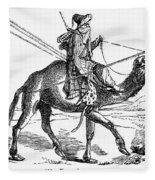 Caravan: Dromedary Fleece Blanket