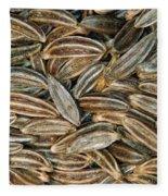 Caraway Seeds Fleece Blanket