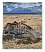 Carcass With A View Fleece Blanket