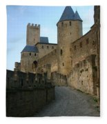 Carcassonne Castle Fleece Blanket