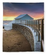 Carcavelosbeach - Portugal Fleece Blanket