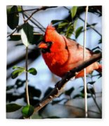 Cardinal IIi Fleece Blanket